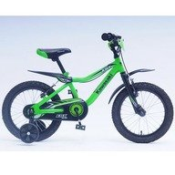 Bicicleta copii Kawasaki KBX green 16 Ironway