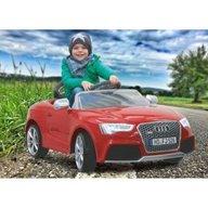 Jamara - Masinuta electrica copii Audi RS5 Rosie 12V cu telecomanda control parinti 2.4 Ghz si MP3 player cu card memorie SD inclus