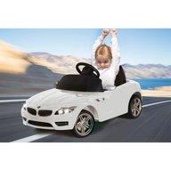 Jamara - Masinuta electrica copii BMW Z4 Alba 6V cu telecomanda control parinti 27 Mhz