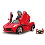 Jamara - Masinuta electrica copii Ferrari LaFerrari Rosie 6V cu telecomanda control parinti 2.4 Ghz cu 2 viteze