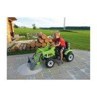 Jamara - Masinuta electrica copii Tractor excavator cu cupa functionala electrica 6V 7 Ah