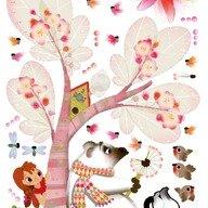 Janod Sticker si grafic de crestere - briza de vara