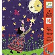 Djeco - Joc creativ de razuit Luna plina