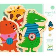 Djeco - Joc cu magneti Animale cu buline