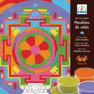 Djeco - Joc cu nisip colorat Mandala tibetana