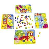 Goki - Joc de societate De atentie si invatare culori cu zaruri