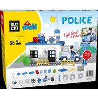 Blocki - Joc de constructie Mubi Sectia de politie 38 piese