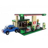 Blocki - Joc de constructie My City Benzinarie 435 piese