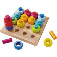 Haba - Joc de indemanare, Inelele colorate, 2-6 ani
