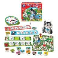 Orchard Toys - Joc de societate Cat este ceasul domnule lup