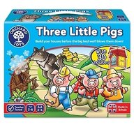 Orchard Toys - Joc de societate Cei trei purcelusi - Three little pigs
