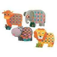 Egmont toys - Set creativ De tesut animale