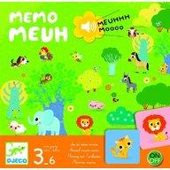 Djeco - Joc cu sunete Memo Meuh