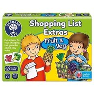 Orchard Toys - Joc educativ in limba engleza Lista de cumparaturi, Fructe si legume