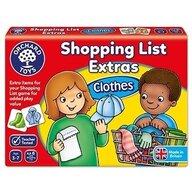 Orchard Toys - Joc educativ in limba engleza Lista de cumparaturi, Haine