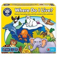 Orchard Toys - Joc educativ loto Habitate - Where do I live