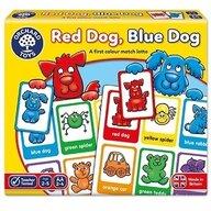 Orchard Toys - Joc educativ loto in limba engleza Catelusii - Red dog, blue dog