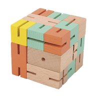Fridolin - Joc logic 3D puzzle Boy, Verde