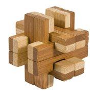 Fridolin - Joc logic IQ din lemn bambus in cutie metalica-8