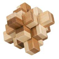 Fridolin - Joc logic IQ din lemn bambus in cutie metalica-9