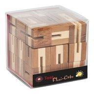 Fridolin - Joc logic puzzle 3D din bambus Flexi-cub