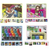 Miniland - Joc magnetic Mediu si reciclare