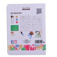 Knorrtoys - Joc pentru decorare cu sclipici Glitza Home Exotic