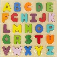 Baby Mix - Joc puzzle din lemn Alfabetul