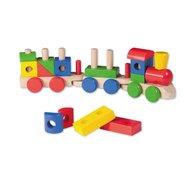 Joueco - Jucarie din lemn Trenulet