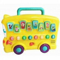 Winfun - Jucarie bebelusi interactiva Autobuz cu sunete animale
