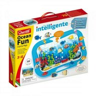 Quercetti - Jucarie creativa Ocean Fun Fish and Pegs