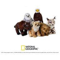 Jucarie de plus, National Geographic animal din America de Nord 18 cm