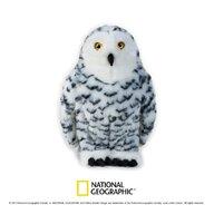 Jucarie de plus, National Geographic Bufnita alba 27 cm