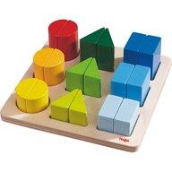 Haba - Jucarie din lemn de potrivire a formelor, Color Charm, 19 piese, 2 ani+