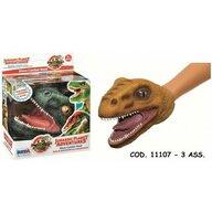 Papusa de mana , In forma de cap de dinozaur