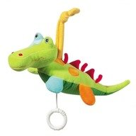 Brevi Soft Toys - Jucarie muzicala Crocodil