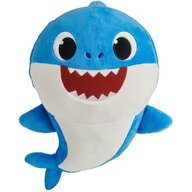 Play by Play - Jucarie din plus interactiva Dady Shark 25 cm, Cu spandex Baby Shark