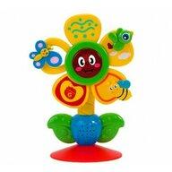 Globo - Jucarie muzicala Floare pentru bebelusi, cu lumini si sunete