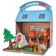 Simba - Jucarie Statie montana Mountain Activity Centre Fireman Sam Bergstation cu 2 figurine si accesorii