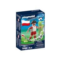 Playmobil - Jucator de fotbal, Polonia