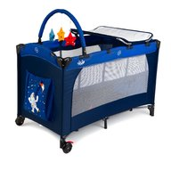 Juju - Patut pliant 2 niveluri Sleepy Baby, Space Adventure