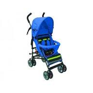 JustBaby - Carucior sport Flexy pentru copii Albastru