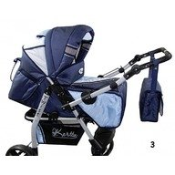 Kerttu Carucior multifunctional 3 in 1 Twist-R