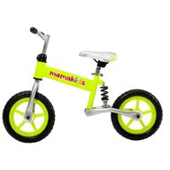 Kidcity - Bicicleta fara pedale 12 inch Hit Mamakids Verde