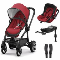 Kiddy - Set Evostar 1 + scoica auto Evoluna i-Size Ruby Red