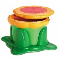 Kids Kit –3 in 1 Kiddy Bin Stool: scaun, inaltator si cos de depozitare