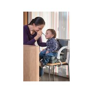 Kids Kit by Rotho babydesign - Inaltator scaun de masa portabil, Grey, Green, White