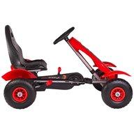 Kidscare - Kart cu pedale F618 Air rosu