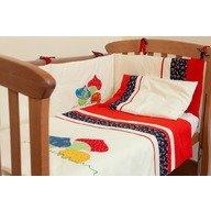 Kidsdecor Set de pat 4 piese Ciupercute kids