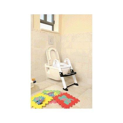 KidsKit Scara cu reductor wc si olita alb/negru